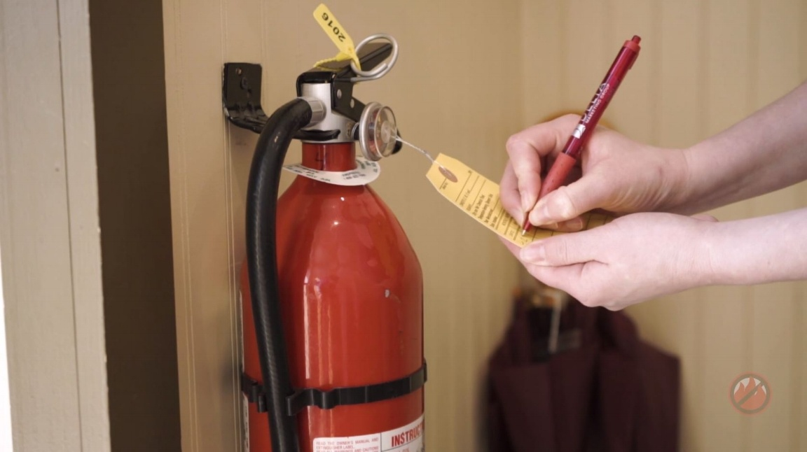 free template  create a fire extinguisher inventory